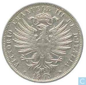 Italy 25 centesimi 1903 rare coin Gatineau Ottawa / Gatineau Area image 1