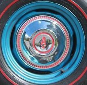 WTB 1969  Acadian  hub caps dog dish