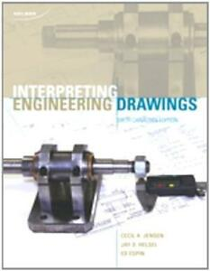 Interpreting Engineering Drawings, By Jensen, 6th Edition