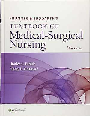 Brunner & Suddarth's Textbook of Medical-Surgical Nursing (Brunner and Suddarth'