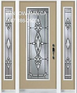 Front Single Door Entry TwoSideLights  many styles