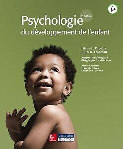 Psychologie du développement de l'enfant, 8e édition Papalia