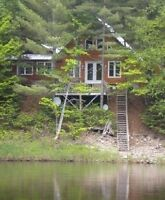 YEAR AROUND COTTAGE OVERLOOKING THE NASHWAAK RIVER
