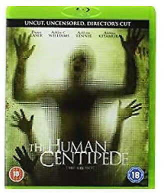 The Human centipede 1 & 2 BLU-RAYS (+ othe horror blurays)
