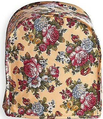 NIP- Victorian Rose - Can Opener Appliance Cover- Butter Floral