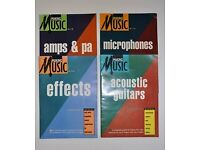 Guides to making music using Acoustic Guitars, Microphones, Amps & PA and Effects.