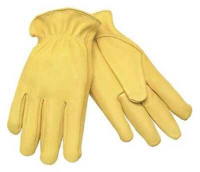 Mcr Safety 3500m Leather Palm Glovesdeerskinmpr