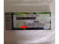 Reading Festival 2016 Sunday ticket
