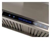 FUJI 30/36in.Twin-motor UnderCabinet RangeHoods 550-900CFM