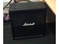 "Marshall MG412A Angled Extension Cabinet, 120-watt, 4 x 12"""