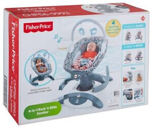 Fisher Price 4 n 1 Rock n Glide Soother