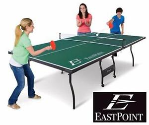 NEW EASTPOINT TABLE-TENNIS TABLE   EPS 1500 - TOYS - GAMES PING PONG RECREATION GAME ROOM TABLE TENNIS TABLES  84976142