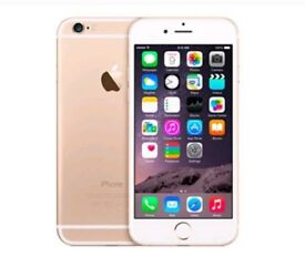 IPHONE 6 UNLOCKED 64GB GOLD ( NO TOUCH ID)