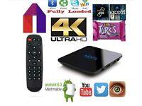 Kodi android tv box 4k 1gb ram 8gb sd slot aswell