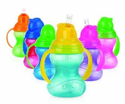 Baby Feeding - Nuby - 2 Handle 360 Degree Click-It w/Straw 8