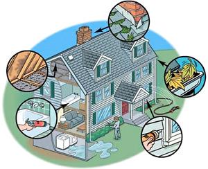 Home Maintenance Checks! (INSURED)