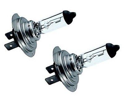 H7 Headlight Bulbs x 2 Fits Nissan Almera Inc Tino Primera Qashqai (PE1201)