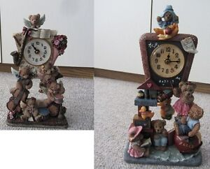 Brand New Battery Operated Unique Clocks - 2 To Choose From