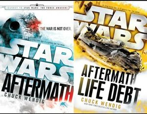 2 star wars books from After math