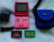 Gameboy Advance SP with Pokemon