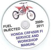 Honda CRF450 Manual