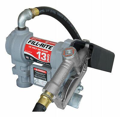 Fill Rite Dc Fuel Transfer Pump Cast Iron 13 Gpm 12-volt