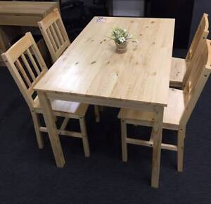 dining table and chairs gumtree melbourne. brand new pine wood dining table include 4 chairs original colour and gumtree melbourne m