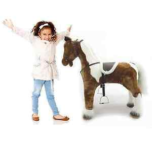 "Brand New Rideable Giant Plush Horse with Sounds 39"" Tall"