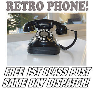 Retro Kitch Classic Corded Home Telephone