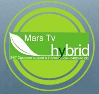2 Years Mars Hybrid tv, Live Tv, Fitv, Real TV hybrid