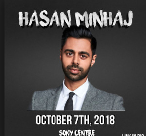 Selling a Pair of Hasan Minhaj Tickets - October 7