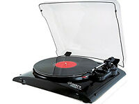 Vinyl Turntable - ION Record Player with USB - NEW - Black