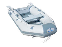 Bestway fishing dinghy/boat with outboard and battery! Bargain