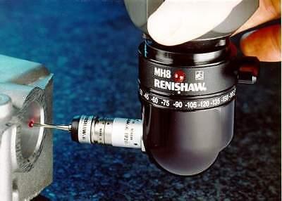 Renishaw Mh8 Cmm Manual Indexixible Probe Head New In Box With Warranty