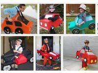 Costume making - adult cardboard cars