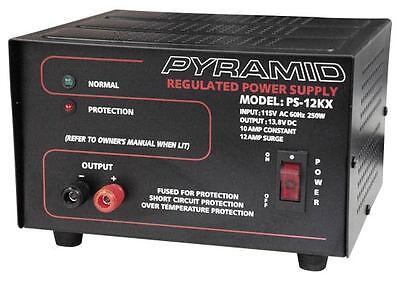 New Pyramid PS12KX 10 Amp Power Supply