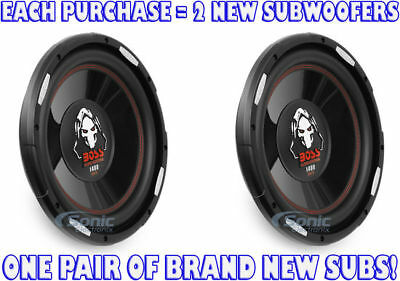 BOSS Audio P120F 1400 Watt, 12 Inch, Single 4 Ohm Voice Coil