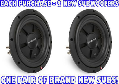 Rockford Fosgate R2 Ultra Shallow 10-Inch 4 Ohm DVC Subwoofe