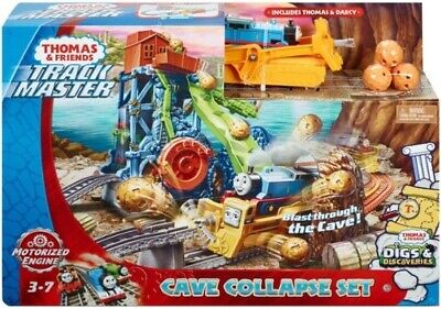 Thomas & Friends TrackMaster Cave Collapse Train Playset Fisher Price