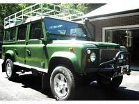 Land Rover Defenders wanted! 92 and earlier 110's and 90's