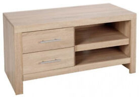 Hygena Tunbridge TV Unit - Light Oak Effect