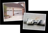 Garage door repairs  $49 / Opener install $110 Call 416-477-2478