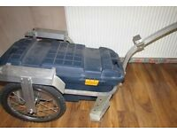 Bike Trailer For Work/Tools Bicycle clip on toolbox Worker storage cycle