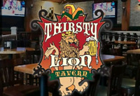 The Thirsty Lion is now open!