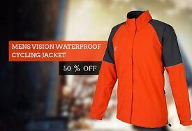 Mens Vision Waterproof Cycling JACKET