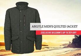 Argyle Men's Quilted JACKET