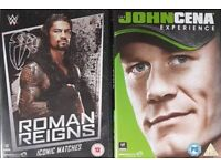 Wrestling Dvds. John cena and roman reigns