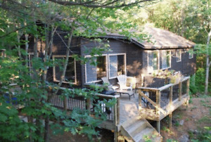 4 Bedroom Private Muskoka Cottage on Muldrew Lake for Rent