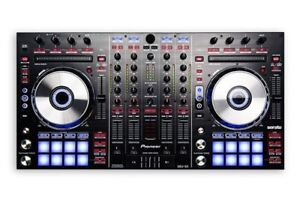 Pioneer DDJ-SX with laptop stand