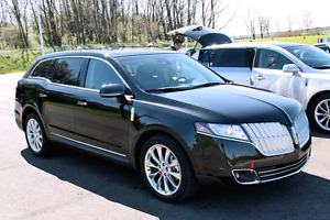 Lincoln MKT 2011 Black in Good Condition-Certified